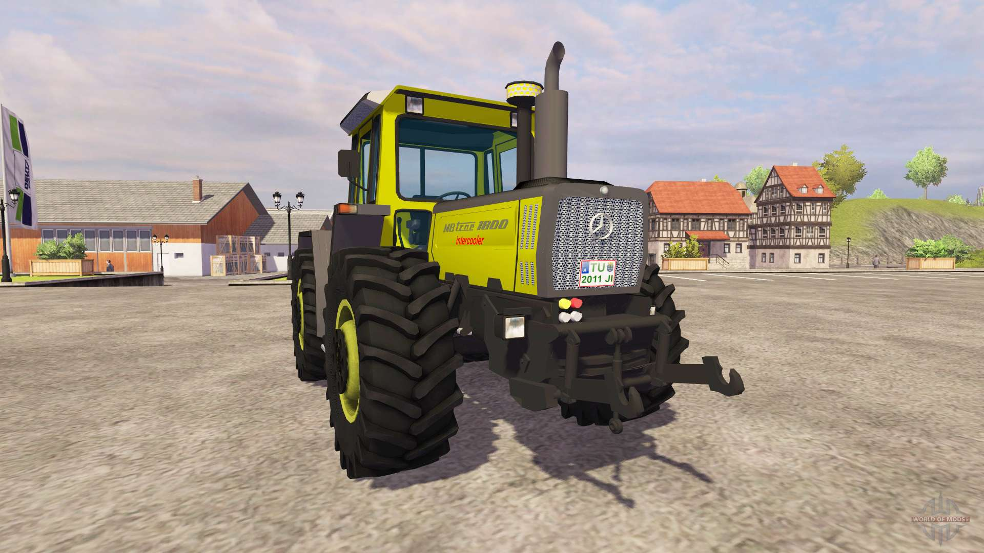 Mercedes benz trac 1800 intercooler for farming simulator 2013 for Mercedes benz tractors