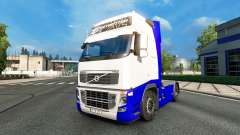Skin Blue-White in the Volvo