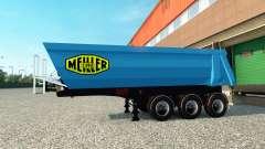 Skin Meiller Kipper semi-trailer to the for Euro Truck Simulator 2