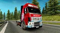 Skin FC Bayern Munchen on a Volvo truck