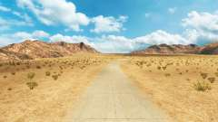 Roads Northern Nevada for American Truck Simulator