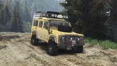 Land Rover Defender 110 Camel Trophy [25.12.15] for Spin Tires