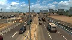 Increased density of traffic