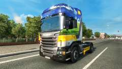 Gasunie Transport skin for Scania truck