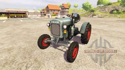 Fahr F22 v0.9 for Farming Simulator 2013