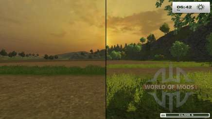 HD textures for Farming Simulator 2013