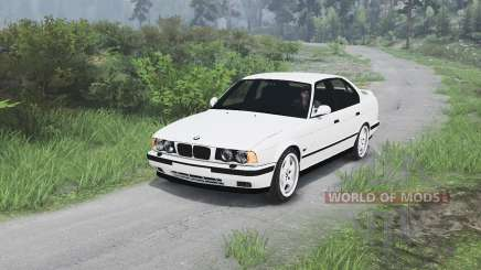 BMW M5 (E34) 1995 [25.12.15] for Spin Tires