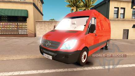 Mercedes-Benz Sprinter LWB for American Truck Simulator