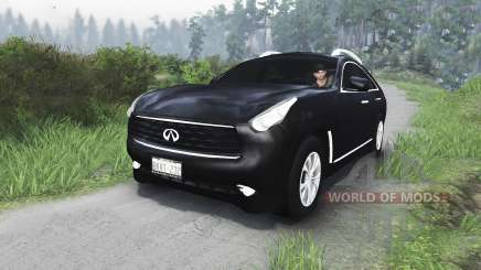Infiniti FX35 [25.12.15] for Spin Tires