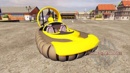 The hovercraft for Farming Simulator 2013