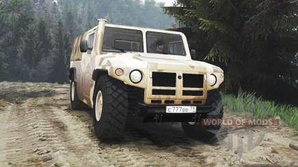 GAZ-233002 [25.12.15] for Spin Tires