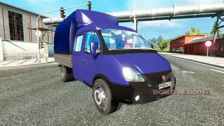GAZ-3302 for Euro Truck Simulator 2