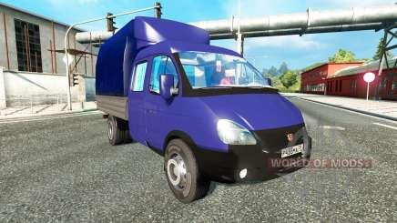 GAZ-3302 for Euro Truck Simulator 2