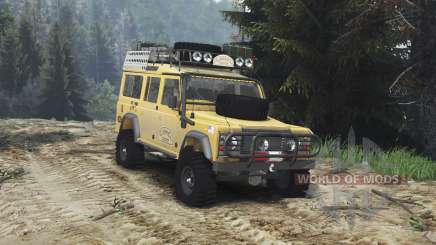 Land Rover Defender 110 Camel Trophy [25.12.15] for Spin Tires