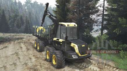 PONSSE Buffalo 8x8 [16.12.15] for Spin Tires