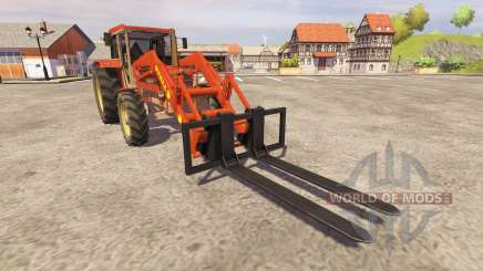 Schluter Compact 1050T v2.0 FL for Farming Simulator 2013
