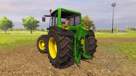 John Deere 6125M v2.0 for Farming Simulator 2013