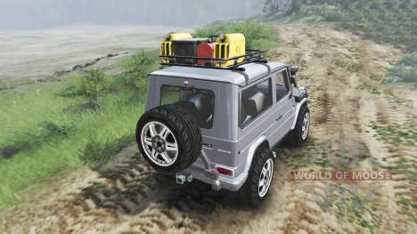 Mercedes-Benz G320 CDi [03.03.16] for Spin Tires