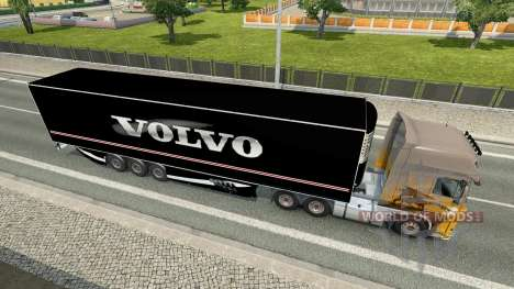 The Semi-Trailer Volvo for Euro Truck Simulator 2