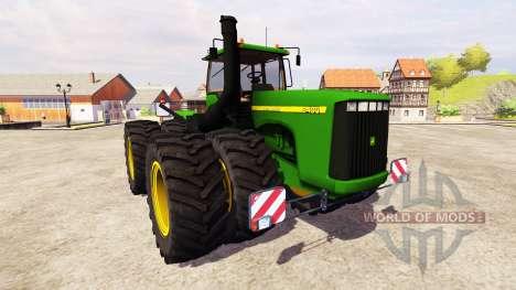 John Deere 9400 v2.0 for Farming Simulator 2013