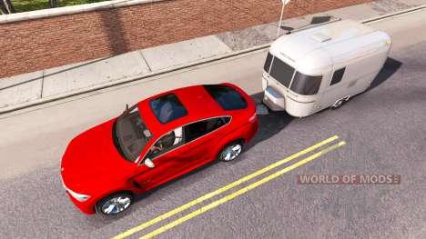 BMW X6 M50d 2015 for American Truck Simulator