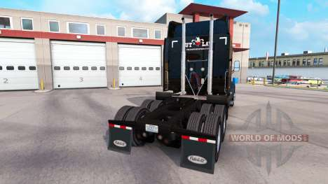 The skin of Outlaw Transportation on truck Peter for American Truck Simulator