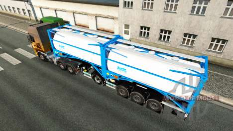 Semitrailer tank Nijman Zeetank v2.0 for Euro Truck Simulator 2