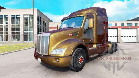 Skins for Peterbilt and Kenworth trucks v0.0.1 for American Truck Simulator