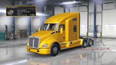Engine 720 HP for American Truck Simulator