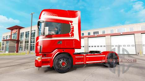 Scania 164L 580 v2.2.1 for American Truck Simulator