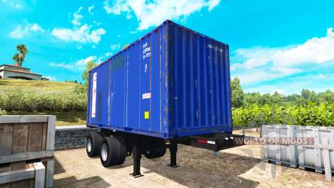 The semi-trailer container for American Truck Simulator
