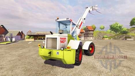 CLAAS Ranger 940 GX for Farming Simulator 2013