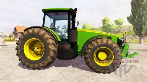 John Deere 8360R [front linkage] v2.1 for Farming Simulator 2013