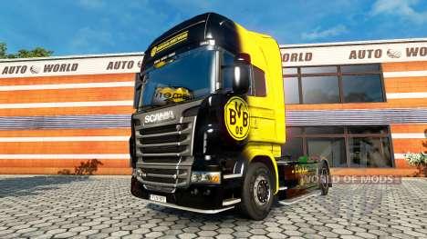 BvB skin for the Scania truck for Euro Truck Simulator 2