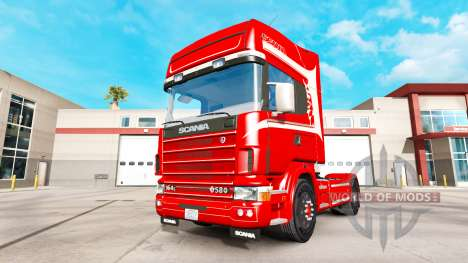 Scania 164L 580 v2.2.1 for American Truck Simulator