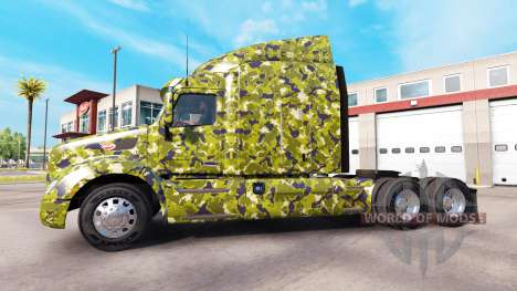 Army skin for Peterbilt truck for American Truck Simulator