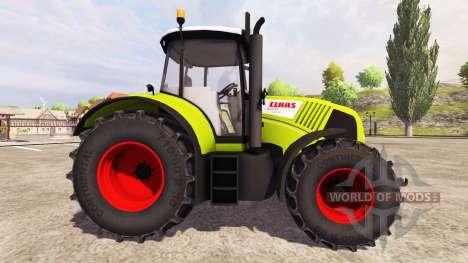 CLAAS Axion 850 v2.0 for Farming Simulator 2013