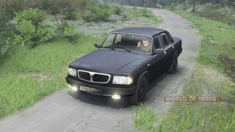 GAZ-3110 Volga [black][03.03.16] for Spin Tires
