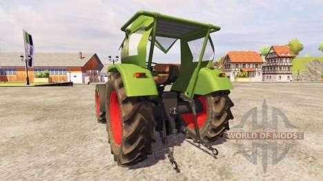 Fendt Favorit 4S FL v2.1 for Farming Simulator 2013