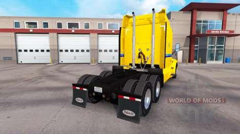 Skin Penske Truck Rental truck Peterbilt for American Truck Simulator