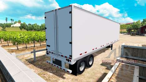 The semi-solid metal Great Dane v1.1 for American Truck Simulator