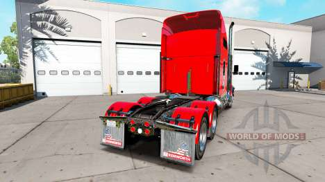 Kenworth T800 [update] for American Truck Simulator