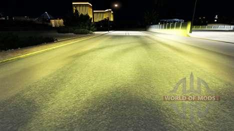 The yellow light v1.1 for American Truck Simulator