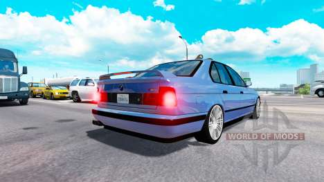 BMW M5 (E34) [traffic] for American Truck Simulator