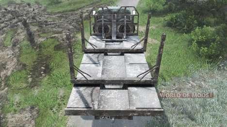KrAZ-257 [25.12.15] for Spin Tires
