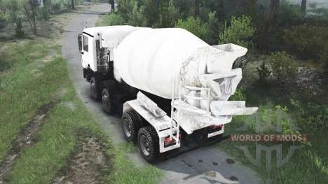 Mercedes-Benz Actros 4141 Tipper [25.12.15] for Spin Tires