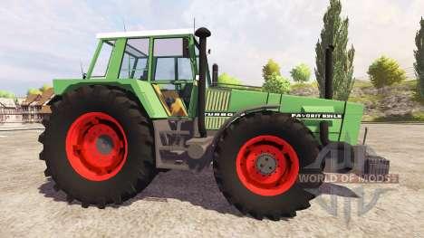 Fendt Favorit 626 v2.0 for Farming Simulator 2013