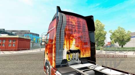 Rostlaube skin for Volvo truck for Euro Truck Simulator 2
