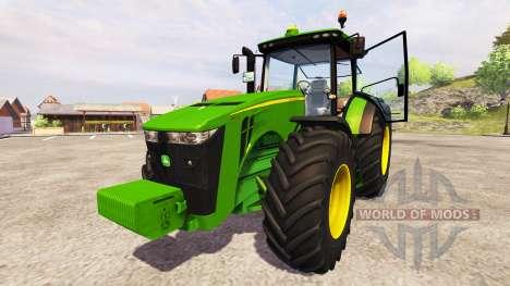 John Deere 8360R GW v2.0 for Farming Simulator 2013