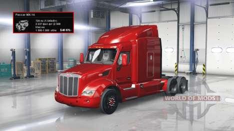 Engine 720 HP for American Truck Simulator
